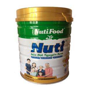 Sữa Bột Nguyên Kem của NutiFood / 900g