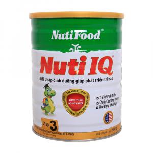 Sữa Nuti IQ 3 / 900g ( 1 - 2 Tuổi)
