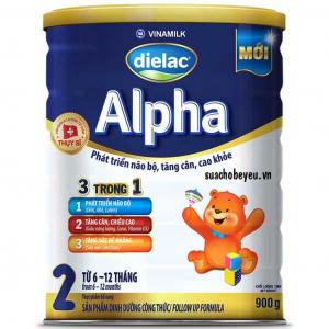 Sữa Bột Vinamilk Dielac Alpha 2 / 900g ( 6 -12 Tháng)