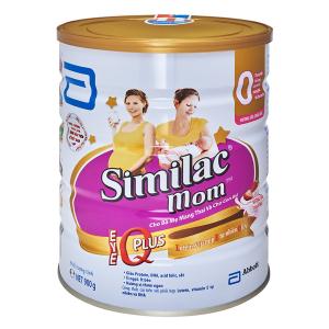 Sữa Bột Similac Mom Hương Dâu IQ / 900g