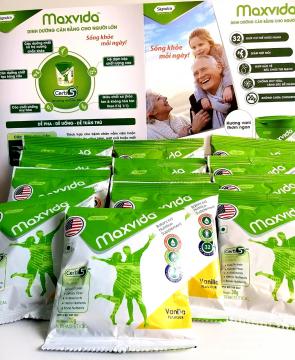 Sữa MAXVIDA 30g ( 7 gói ) dinh dưỡng dành cho người lớn