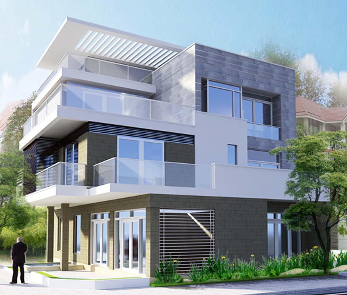 Thiết kế biệt thự - Cô Hương Quận 5