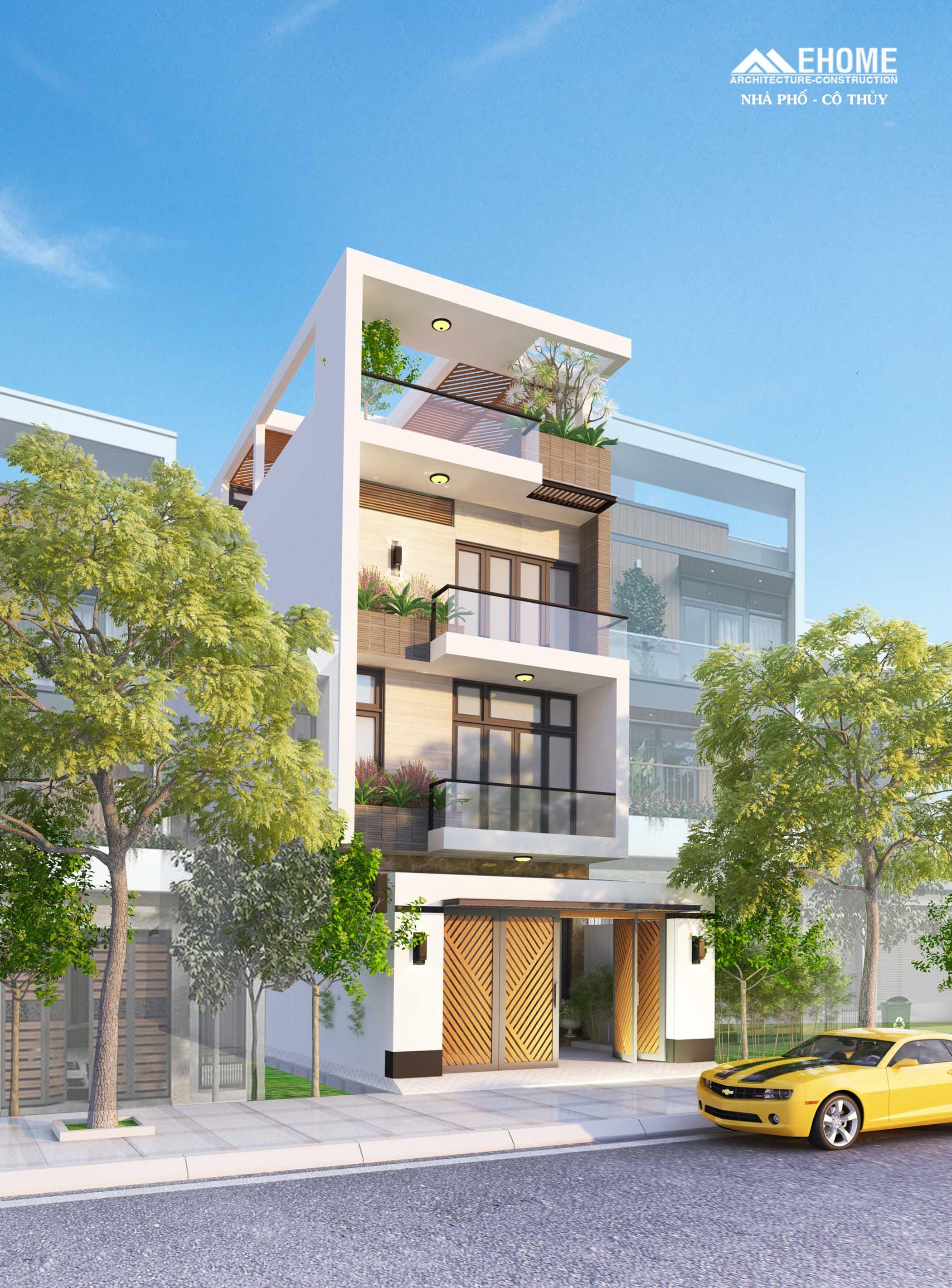 Thiết kế thi công nhà phố trọn gói từ A đến Z