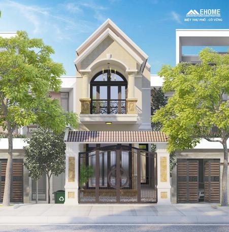 Biệt thự 2 tầng mái thái đẹp quận Tân Bình