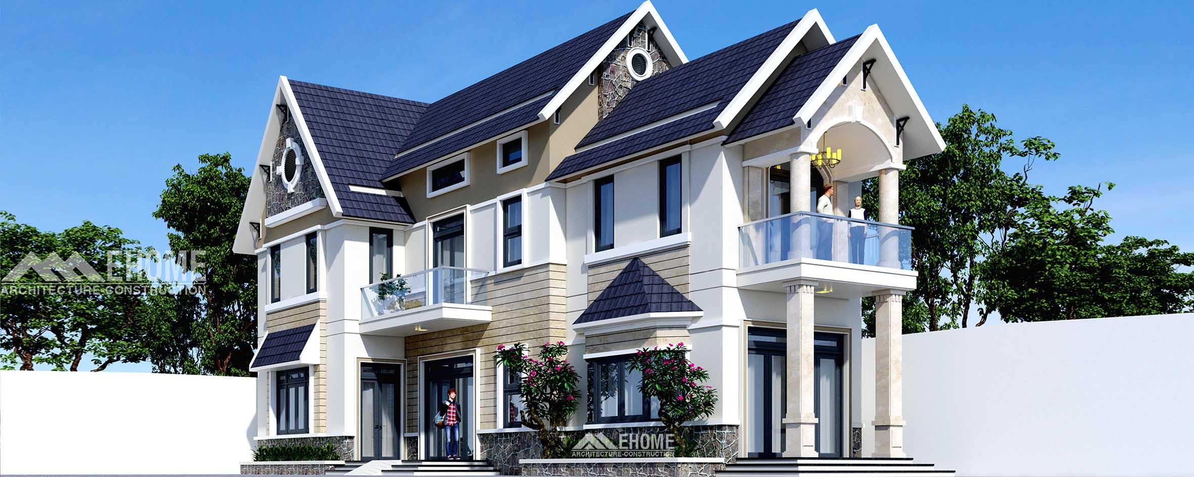 Thiết kế thi công - Biệt Thự Quận 12