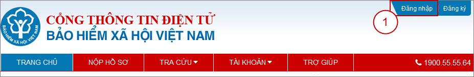 Bài VN1: Hướng dẫn Đăng ký ngừng tài khoản trên Cổng thông tin điện tử BHXH Việt Nam