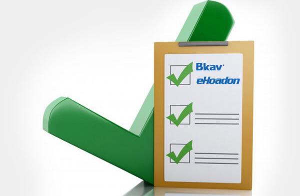 Phần mềm hóa đơn điện tử Bkav ehoadon được Cục Thuế Hà Nội đánh giá đứng vị trí số 1