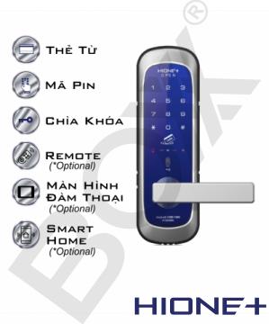 Khóa mini tay cầm thẻ từ/ mật khẩu H-3300