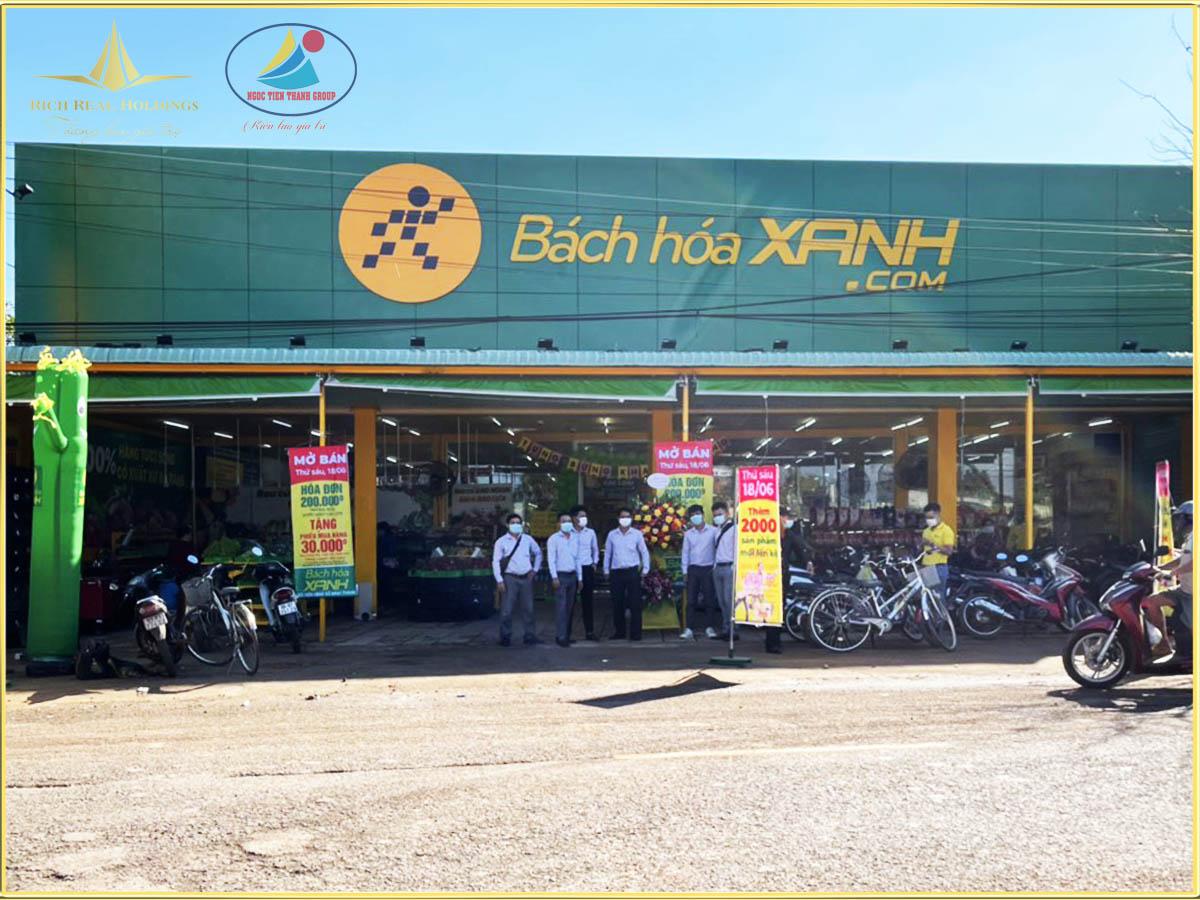 """Bất chấp Covid 19 """"ông lớn"""" Bách Hóa Xanh khai trương chi nhánh tại Tân Phước, Đồng Phú"""