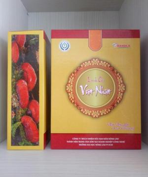 Nấm linh chi Việt Nhật cao cấp NaNoLa (250g)