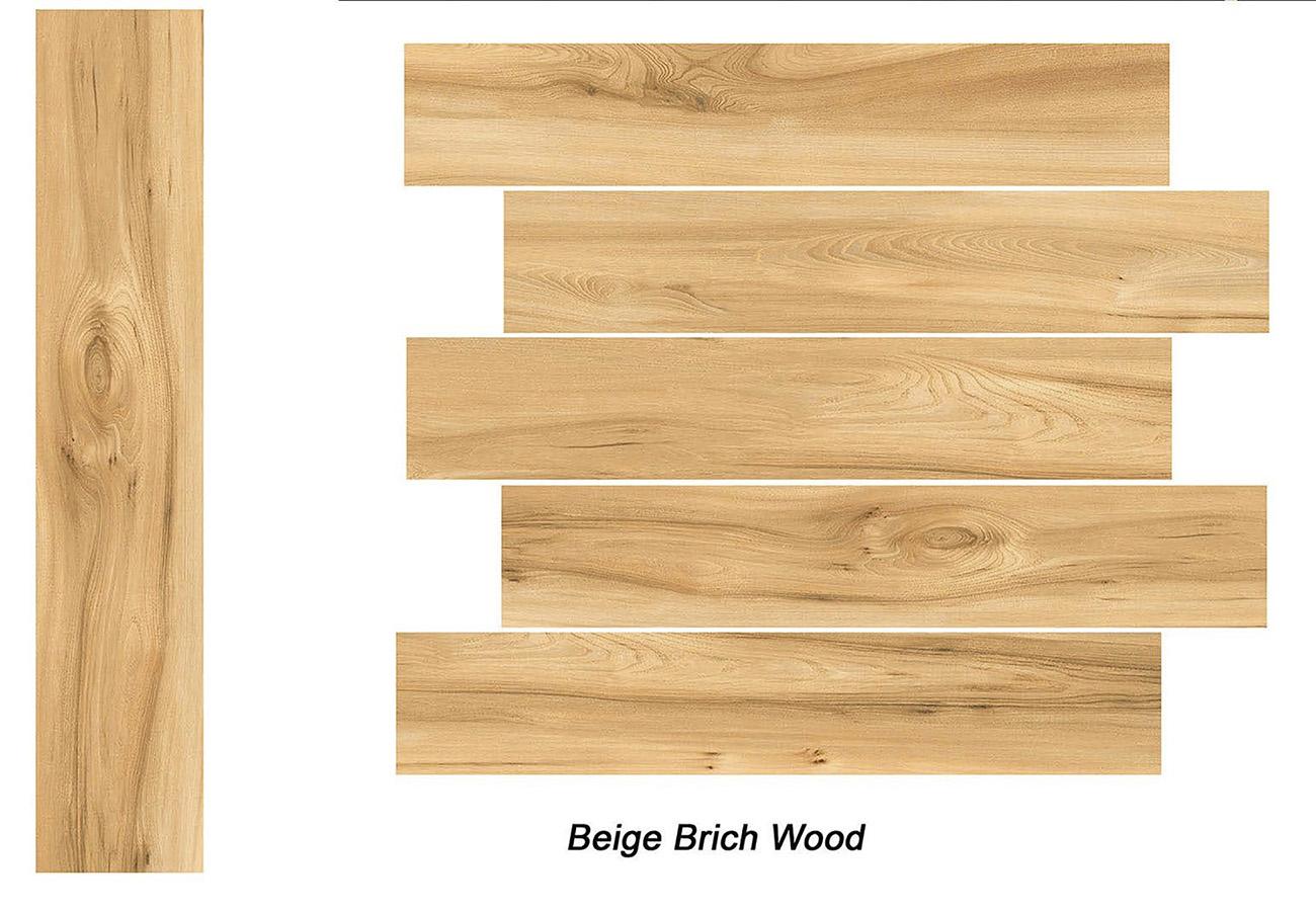 Beige Brich Wood