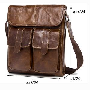 Túi đeo chéo da thật cho nam TM234