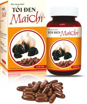 Viên nang mềm tỏi đen Mai Chi (60 viên/hộp)