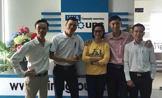 Đài truyền hình Việt Nam - VTV ghi hình tại Vinagroups, phỏng vấn Team Vinafoods