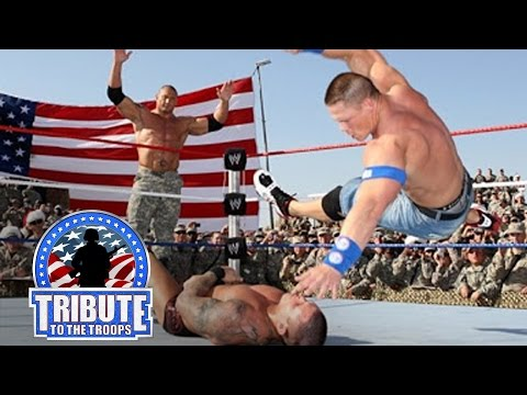 John Cena, Batista & Rey Mysterio vs. Randy Orton & Jeri-Show: Tribute to the Troops