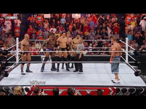 LUCHA COMPLETA: John Cena vs The Nexus 6-on-1 Handicap Match | Raw Latino ᴴᴰ