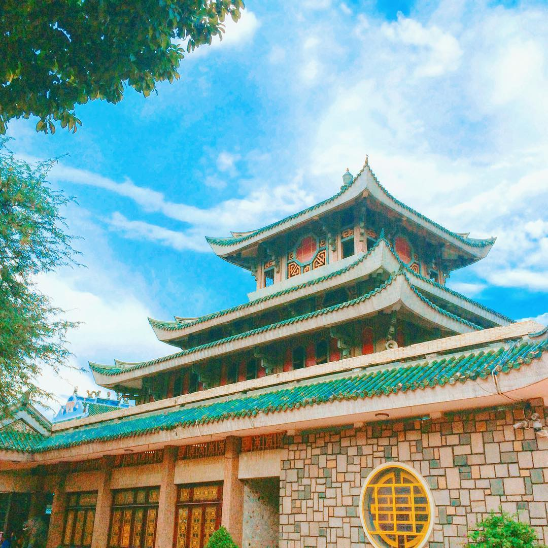 Miếu Bà Chúa Xứ - chân núi Sam, thành phố Châu Đốc, tỉnh An Giang
