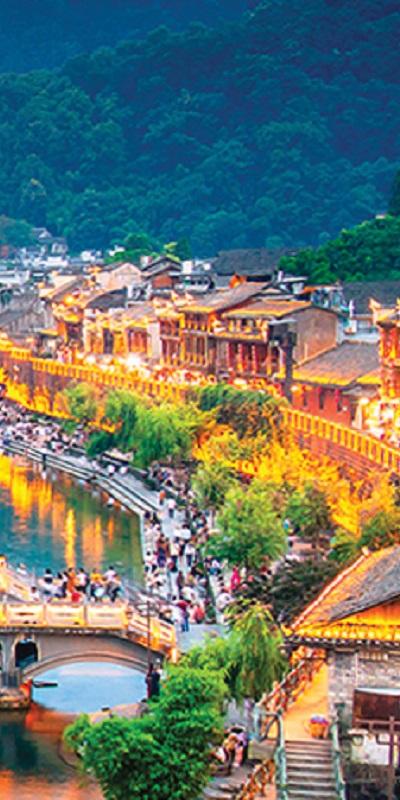 TRUNG QUỐC 6N5Đ: Trương Gia Giới - Thành Cổ Phượng Hoàng - Ân Thi - Phù Dung Trấn