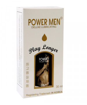 Gel Bôi Trơn Powermen Play Longer 30ml