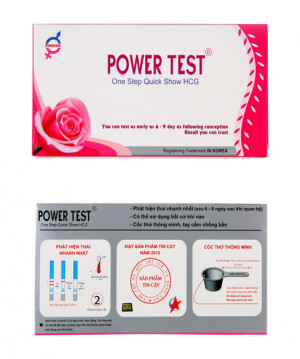 Que Thử Thai Powertest 3mm