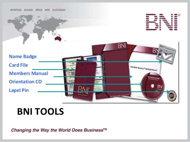 Sức mạnh của công cụ sổ Name Card BNI