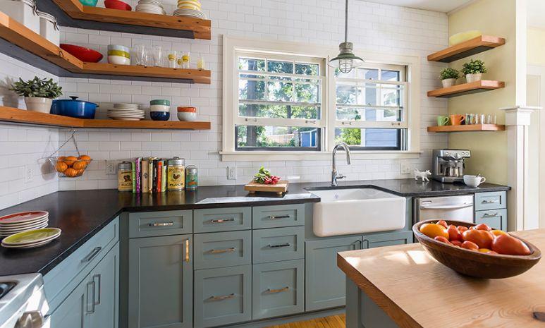 Thiết kế và trang trí nội thất trong nhà bếp theo phong thủy