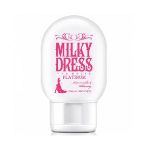 SỮA DƯỠNG TRẮNG VÀ CHỐNG LÃO HOÁ MILKY DRESS THE WHITE PLATINUM (65ML) M06-MK318