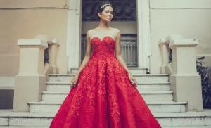 Thiết kế phù hợp với trào lưu váy cưới mùa thu đang được yêu thích.
