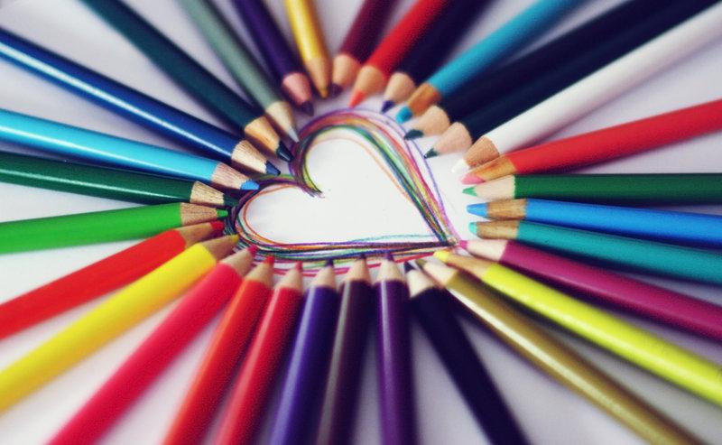 Màu của tình yêu