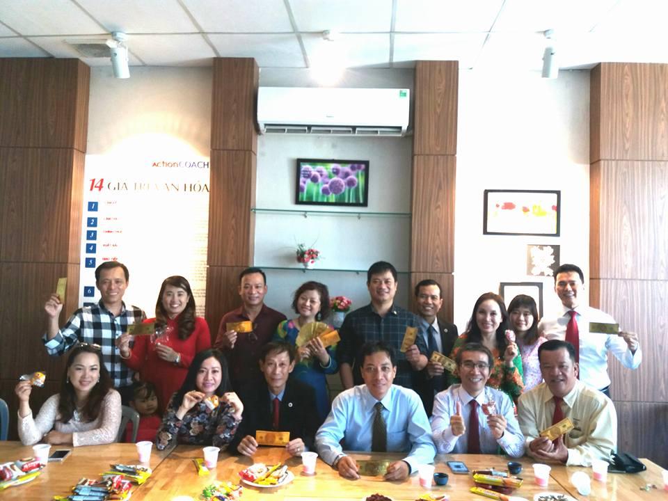 Khai trương năm mới văn Phòng BNI HCM6