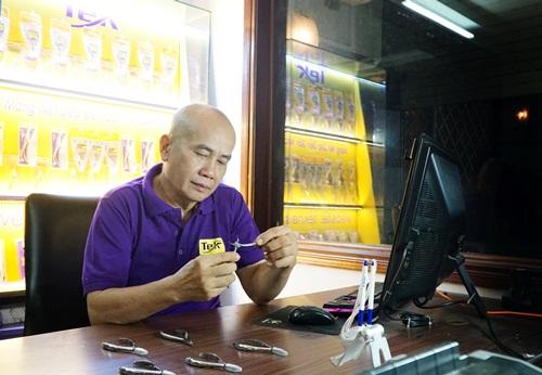 35 năm sản xuất kềm làm móng của doanh nghiệp Việt