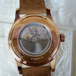 Thiết kế kinh điển đồng hồ nam automatic 26 chân kính Parnis PA6062-2