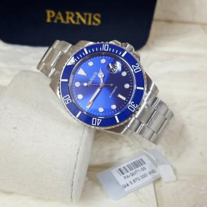Thiết kế kinh điển của rolex đồng hồ nam Parnis PA-GMT1-55