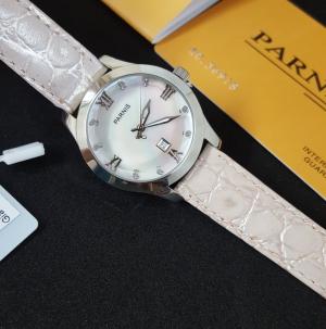 Thiết kế kinh điển đồng hồ nữ Parnis PA6005-2