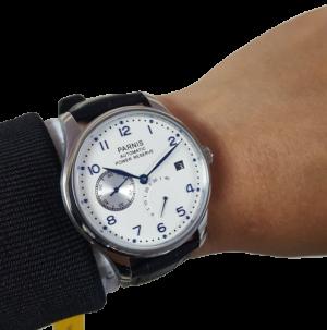 đồng hồ parnis PA Power reserve PA6065
