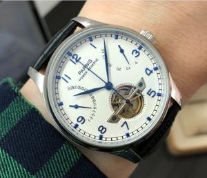 thiết kế kinh điển đồng hồ nam Parnis PS2530-3