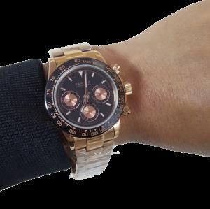 Đồng hồ 3 nút bấm giờ thể thao Parnis PA6048-1