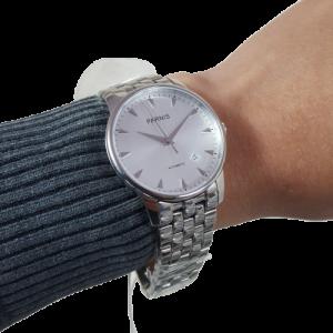Thiết kế kinh điển đồng hồ nam Parnis PA6038-12