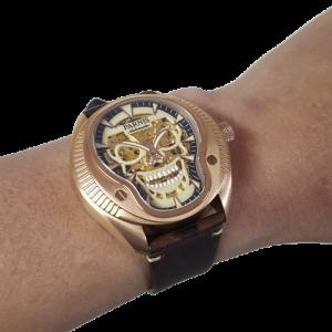 Thiết kế kinh điển đồng hồ nam Parnis PA6067-1