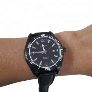 Thiết kế kinh điển của omega đồng hồ nam parnis P6032-2