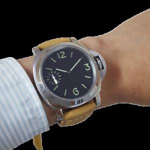Thiết kế kinh điển của panerai đồng hồ nam PARNIS MM1-2