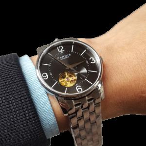 Thiết kế kinh điển đồng hồ nam Parnis PA6038-6