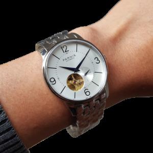 Thiết kế kinh điển đồng hồ nam Parnis PA6038-21