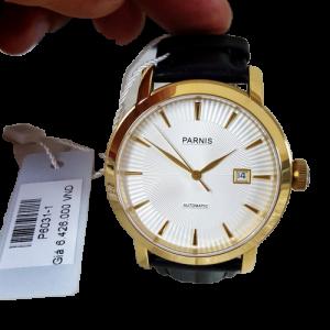 Thiế kế kinh điển đồng hồ nam Parnis P6031-1