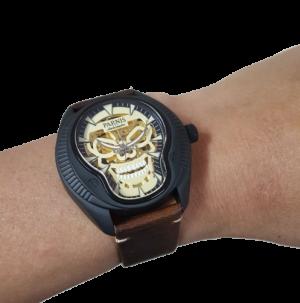 Thiết kế kinh điển đồng hồ nam Parnis PA6067-2