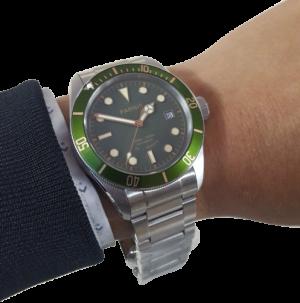 Thiết kế kinh điển của rolex đồng hồ nam Parnis PA6050-5