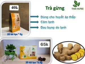 Trà Gừng Thái Hưng 25 túi lọc 2,5g