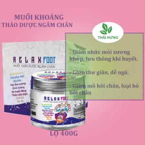 Muối thảo dược ngâm chân Thái Hưng Relax Food