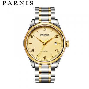 Thiết kế kinh điển đồng hồ nam Parnis PH2113G