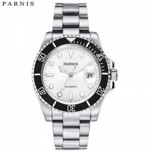 Thiết kế kinh điển của rolex đồng hồ nam Parnis PA-GMT1-22